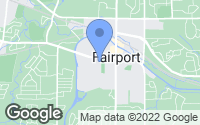 Map of Fairport, NY