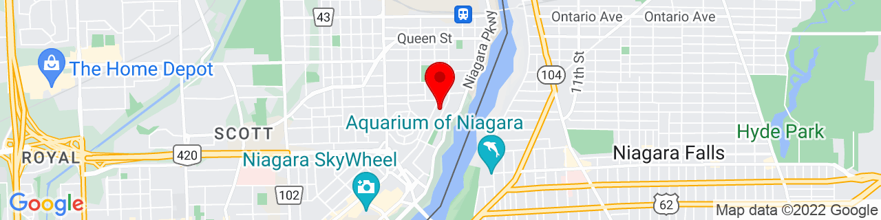 Google Map of 43.10012, -79.06627