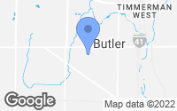 Map of Brookfield, WI