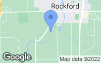 Map of Rockford, MI