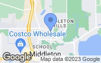 Map of Middleton, WI