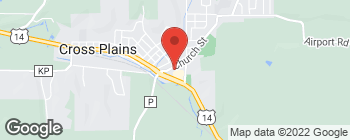 Map of 25 Glacier Edge Square in Cross Plains