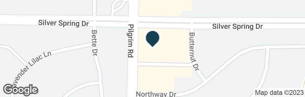 Google Map ofN56W15501 SILVER SPRING DR