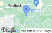 Map of Penfield, NY