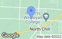 Map of North Chili, NY