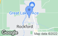 Map of Rockford, MI