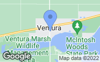 Map of Ventura, IA