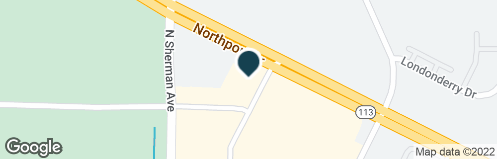 Google Map of1725 NORTHPORT DR