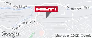 Региональный представитель Hilti в г. Владивосток