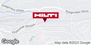 Get directions to Региональный представитель Hilti в г. Владивосток