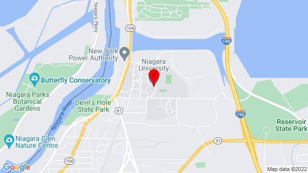 Google Map of 7 Varsity Drive, Niagara University, NY 14109