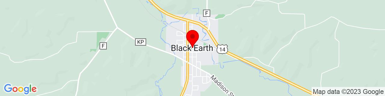 Google Map of 43.13722222222222, -89.74666666666667