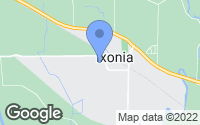 Map of Ixonia, WI