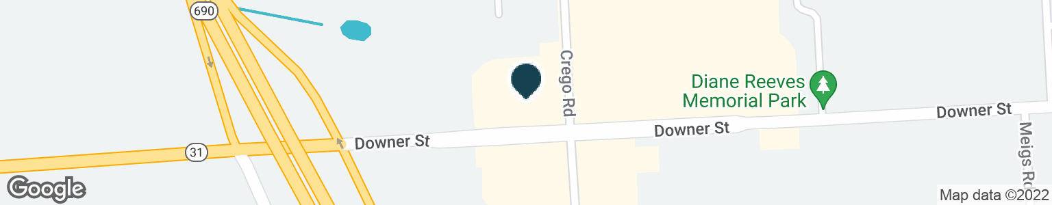 Google Map of2231 DOWNER STREET RD