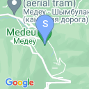 map for Medeo Skating Rink, Almaty, Kazakhstan