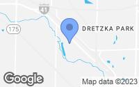 Map of Menomonee Falls, WI