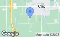 Map of Clio, MI