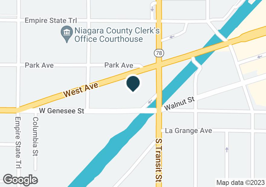 Google Map of5 N TRANSIT ST