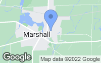 Map of Marshall, WI
