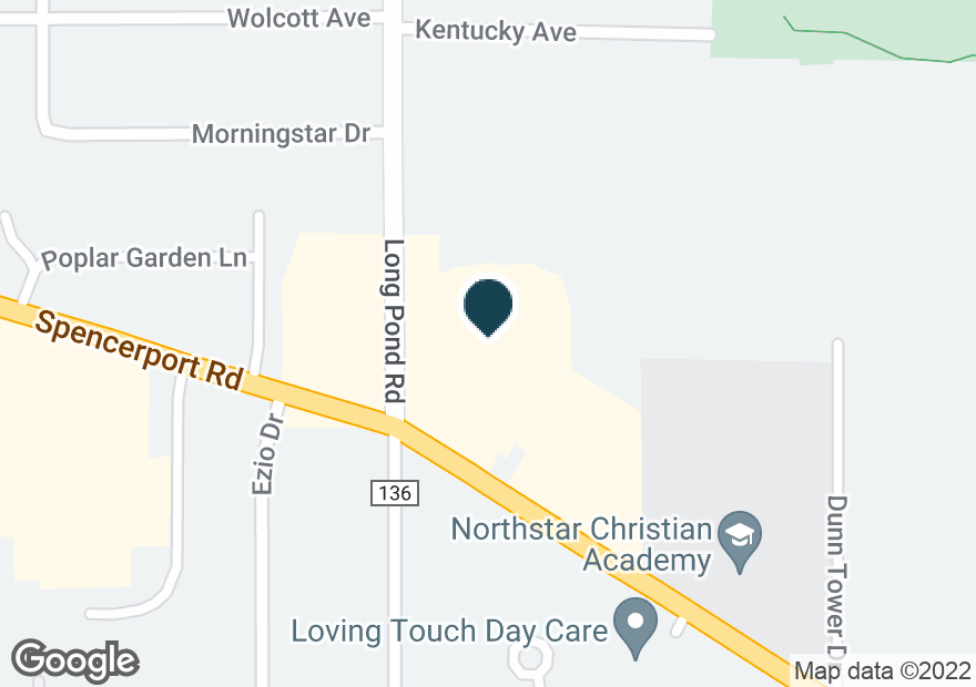 Google Map of430 SPENCERPORT RD