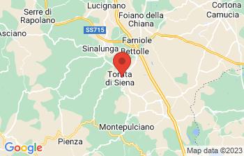 Map of Torrita Di Siena