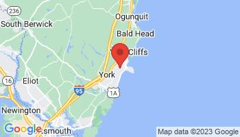 Map of Cape Neddick