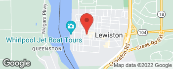 Map of 419 Center St in Lewiston
