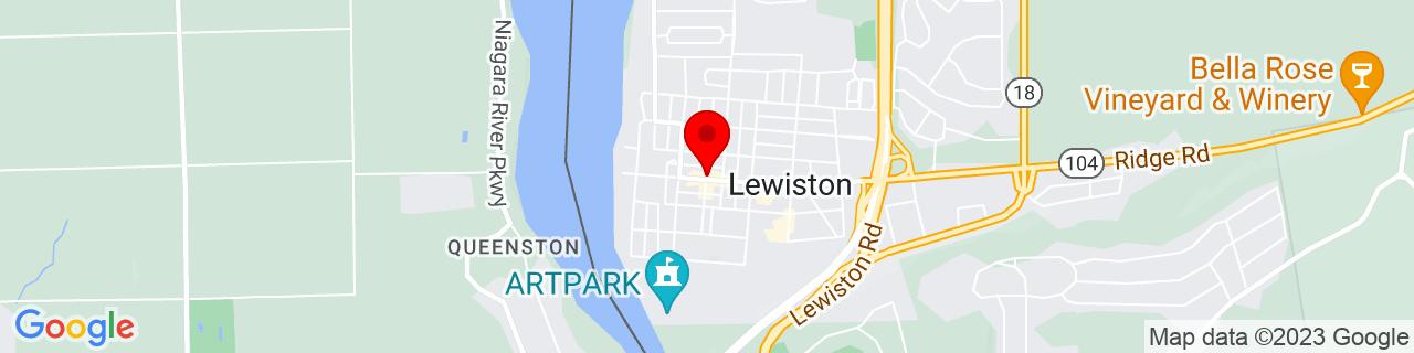 Google Map of 43.1729945, -79.04238219999999