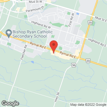 Map of Staples Print & Marketing Services at 103-2130 Rymal Road East, Hannon, ON L0R 1P0