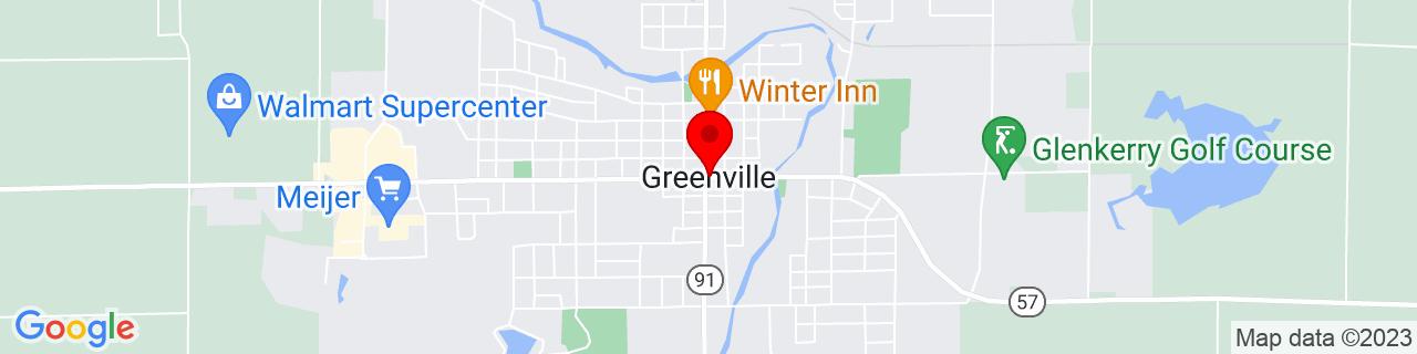 Google Map of 43.1775314, -85.2527987