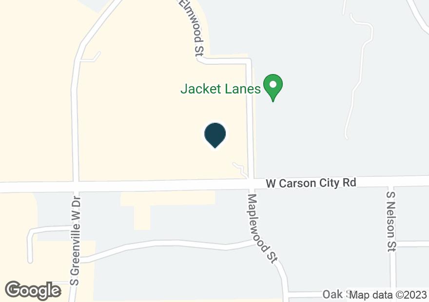 Google Map of1420 W WASHINGTON ST