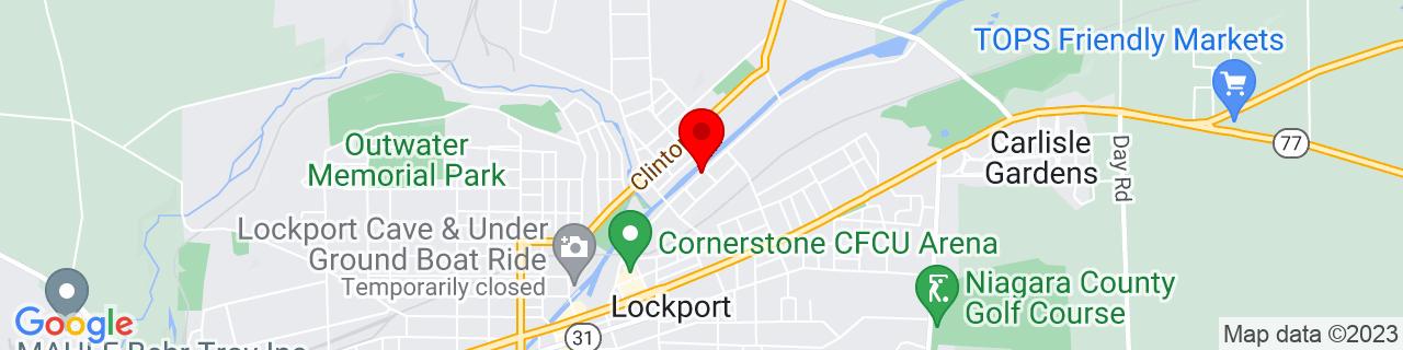 Google Map of 43.1781947, -78.68269099999999