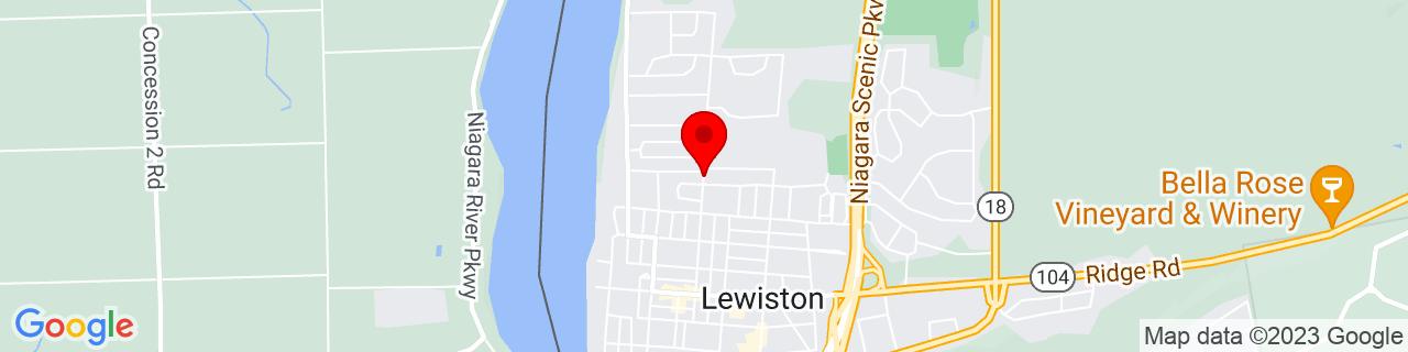 Google Map of 43.17947909999999, -79.040424