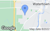 Map of Watertown, WI
