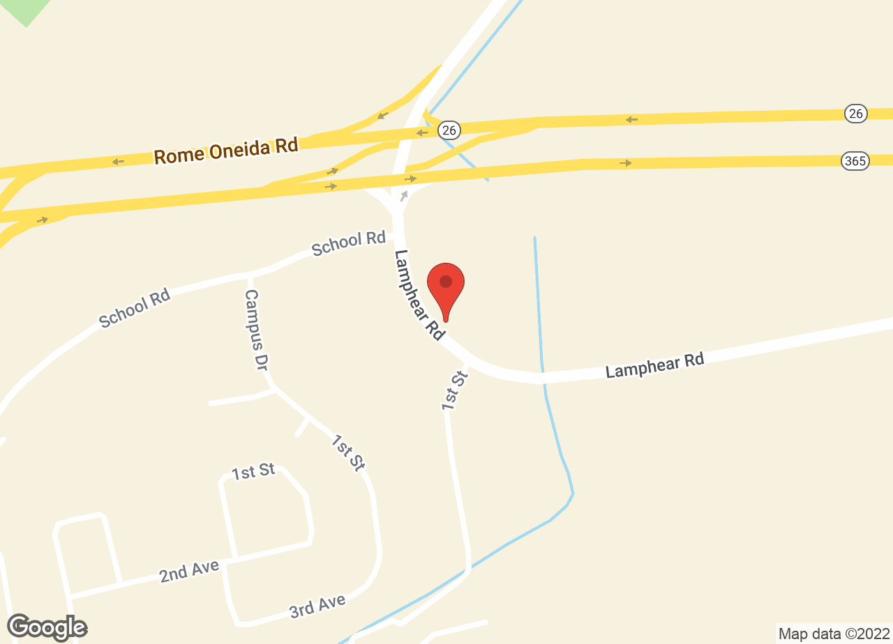 Google Map of Rome Animal Hospital
