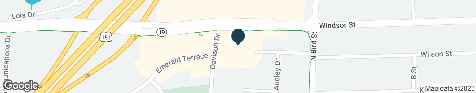 Google Map of275 DAVISON DR