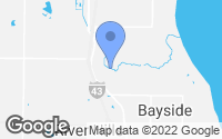 Map of Bayside, WI