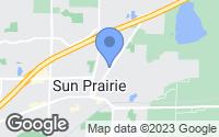 Map of Sun Prairie, WI