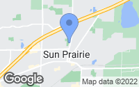 Map of Sun Prairie, WI