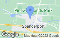 Map of Spencerport, NY