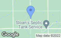 Map of Oakley, MI