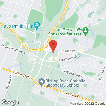 Map of Bed Bath & Beyond at 1783 Stone Church Road East, Stoney Creek, ON L8J0B4