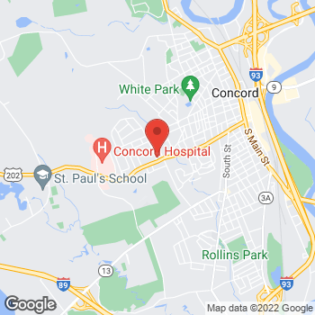 Map of BAYADA Hospice at 194 Pleasant Street, Concord, NH 03301