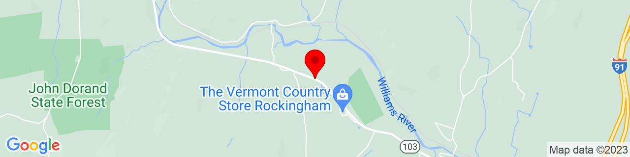 Google Map of 43.2015023, -72.5099718
