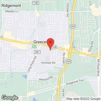 Map of Bed Bath & Beyond at 112 Greece Ridge Center Drive, Greece, NY 14626