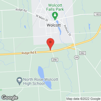 Map of Rite Aid at 5651 Whiskey Hill Road, Wolcott, NY 14590