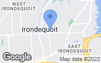 Map of Irondequoit, NY