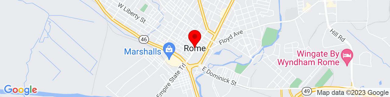 Google Map of 43.2128473, -75.4557303