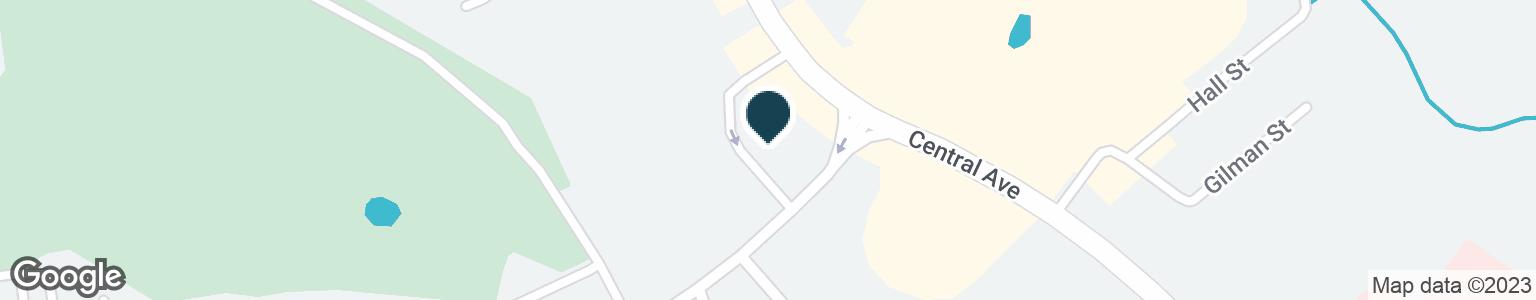Google Map of1 GLENWOOD AVE