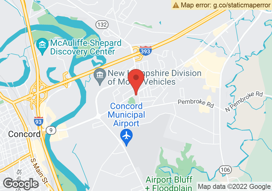 Google Map of 142 LOUDON RD